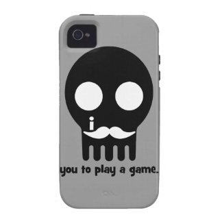 Schnurrbart Gamer iPhone 4/4S Case