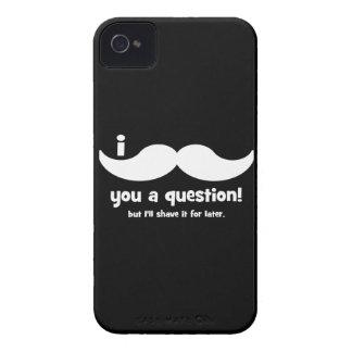 Schnurrbart I Sie eine Frage iPhone 4 Hüllen