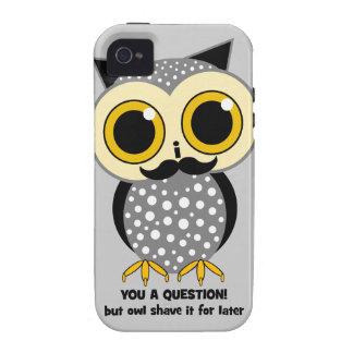 Schnurrbart I Sie eine Frage iPhone 4/4S Hülle