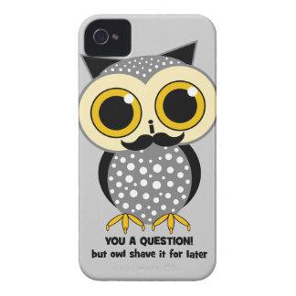 Schnurrbart I Sie eine Frage iPhone 4 Hülle