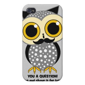 Schnurrbart I Sie eine Frage Schutzhülle Fürs iPhone 4
