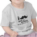 Schnurrbart I Sie eine Frage T-Shirts