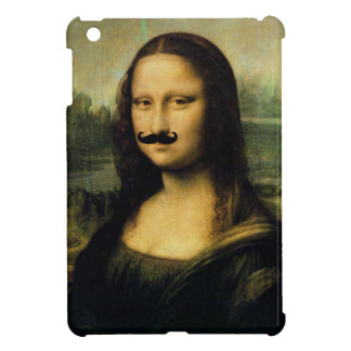 Schnurrbart-Mona Lisa iPad Minifall Hüllen Für iPad Mini