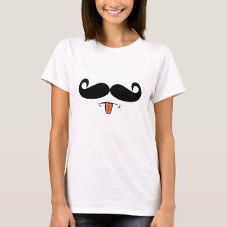 Schnurrbart: P T-Shirt