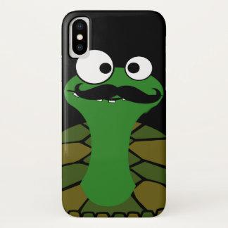 Schnurrbart-Schildkröte iPhone X Hülle