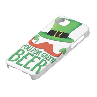 Schnurrbart Sie für grünen Hülle Fürs iPhone 5