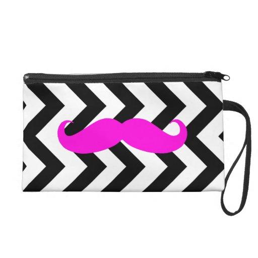 Schnurrbart-Zickzack Tasche