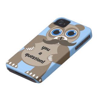 Schnurrbartpanda Case-Mate iPhone 4 Hüllen