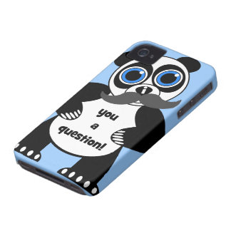 Schnurrbartpanda iPhone 4 Etuis