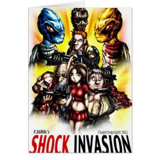Schock-Invasions-Waren Karte
