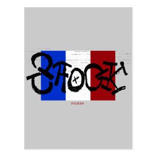 SCHOCK Paris Postkarte