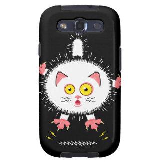 Schockierend niedliche Katze Galaxy S3 Schutzhüllen