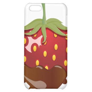 Schokolade bedeckte Erdbeere iPhone 5C Cover