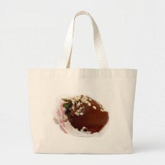 Schokolade bedeckte Erdbeere Taschen