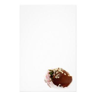 Schokolade bedeckte Erdbeeren Individuelles Druckpapier