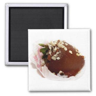 Schokolade bedeckte Erdbeeren Magnete