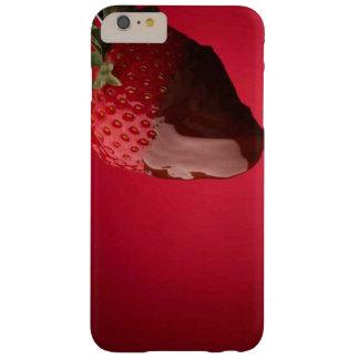 Schokolade bedeckte Erdbeerwüste Barely There iPhone 6 Plus Hülle