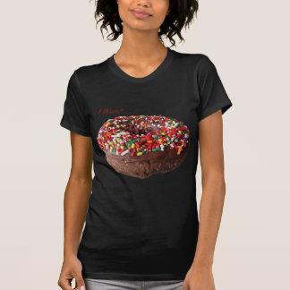 """Schokolade besprühen Krapfen, """", das ich will """" T-Shirt"""