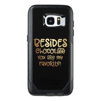"""Schokolade der Galaxie-S """"außer"""" Handy-Fall"""