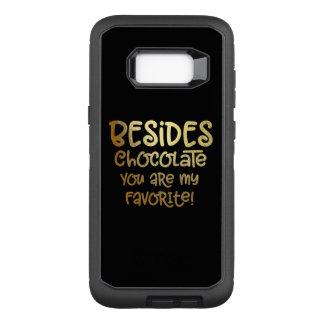 """Schokolade der Galaxie-S """"außer"""" Handy-Fall OtterBox Defender Samsung Galaxy S8+ Hülle"""