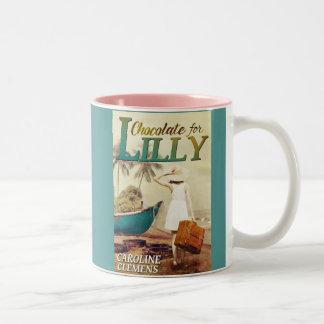 Schokolade für Lilly Zweifarbige Tasse