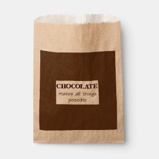 Schokolade Geschenktütchen