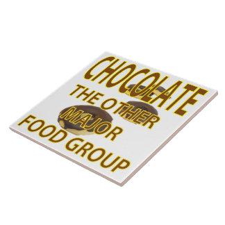 Schokolade Große Quadratische Fliese
