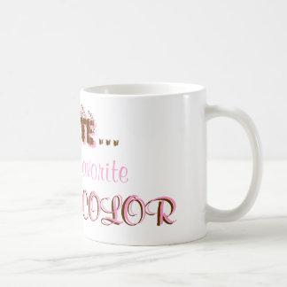 Schokolade Kaffeetasse