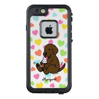 Schokolade Labrador, das Eiscreme iPhone Kasten LifeProof FRÄ' iPhone 6/6s Hülle