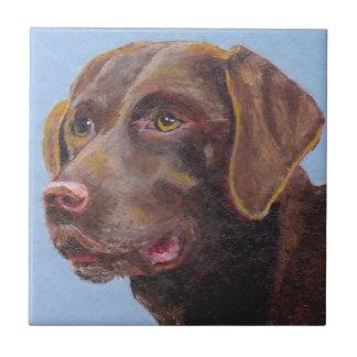Schokolade Labrador retriever Keramikfliese