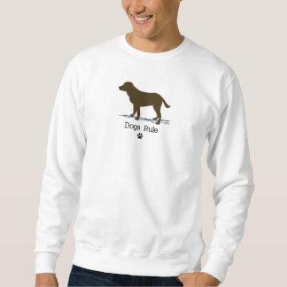 Schokolade Labrador retriever Sweatshirt