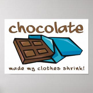 Schokolade machte meinen Kleidungs-Psychiater lust
