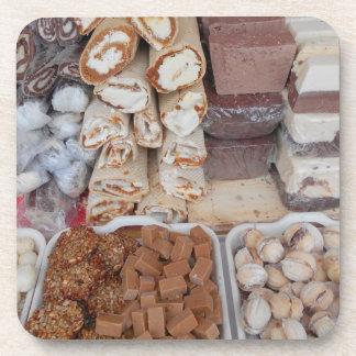 Schokolade, Nugat, Plätzchen, Süßigkeiten Untersetzer