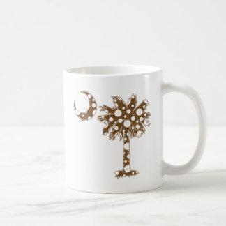 Schokolade punktiert Palmetto Kaffeetasse