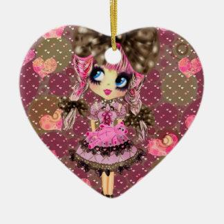 Schokolade sprudelt Kawaii süßes Lolita PinkyP Keramik Ornament