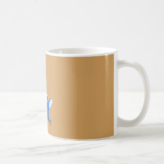 Schokolade und Gezwitscher! Kaffeetasse