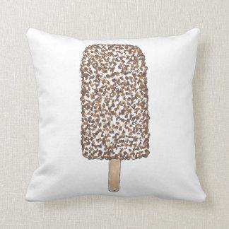 Schokoladeeclair-Krisen-Eiscremepopsicle-Pop Kissen