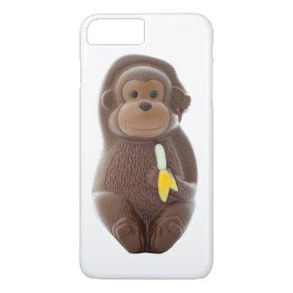 Schokoladen-Affe iPhone 8 Plus/7 Plus Hülle