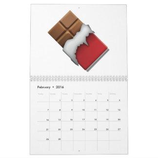 Schokoladen-Bar - Emoji Kalender