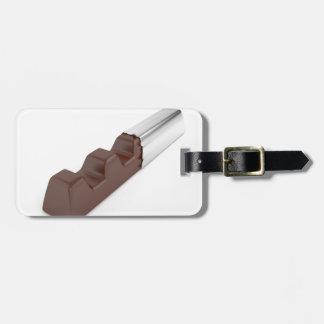 Schokoladen-Bar Gepäckanhänger