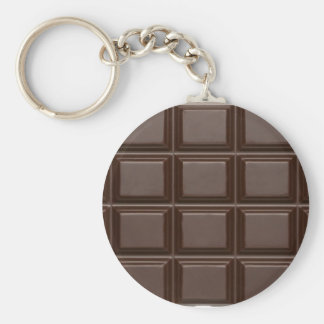 Schokoladen-Bar Keychain Schlüsselanhänger