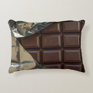 "Schokoladen-Bar-Polyester-Akzent-Kissen 16"" X12 "" Deko Kissen"