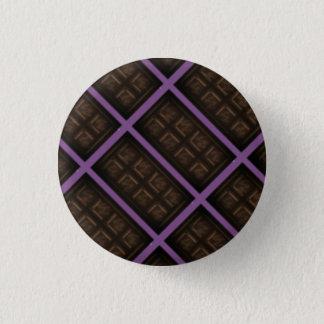 Schokoladen-Bar Runder Button 2,5 Cm