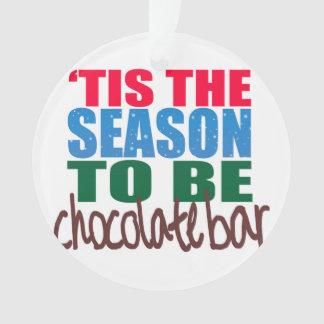 Schokoladen-Bar-Verzierung Ornament
