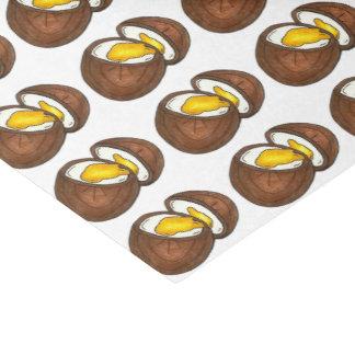 Schokoladen-Eggs Sahneosterei-Druck Seidenpapier