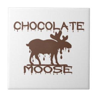 Schokoladen-Elche Kleine Quadratische Fliese