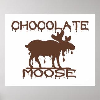 Schokoladen-Elche Poster