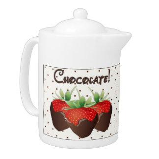 Schokoladen-Erdbeere