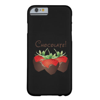 Schokoladen-Erdbeere Barely There iPhone 6 Hülle