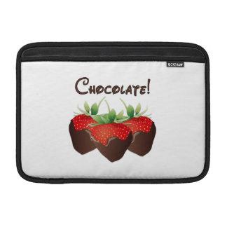 Schokoladen-Erdbeere MacBook Sleeve